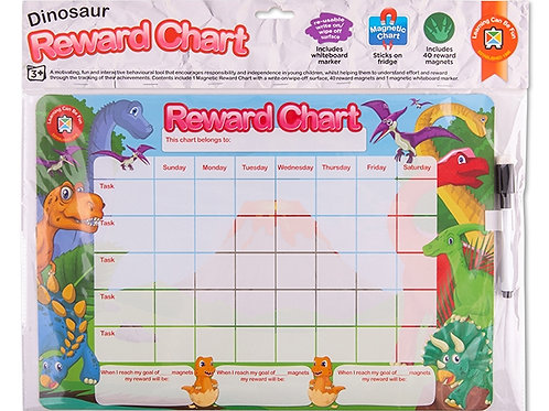 Magnetic Rewards Chart Dinosaurs