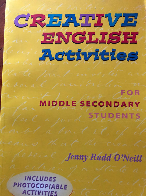 Creative English Activities For  Middle Senior Students