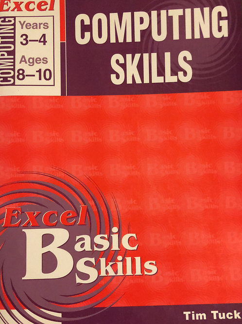 Excel Computer Skills Ages 8-10 Years 3-4