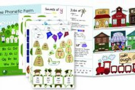 IEW Primary Arts of Language Phonetic Farm Stickers