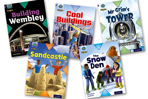 Buildings Level 8 Pack of 5 (Project x Oxford) plus Guided Reading Tests