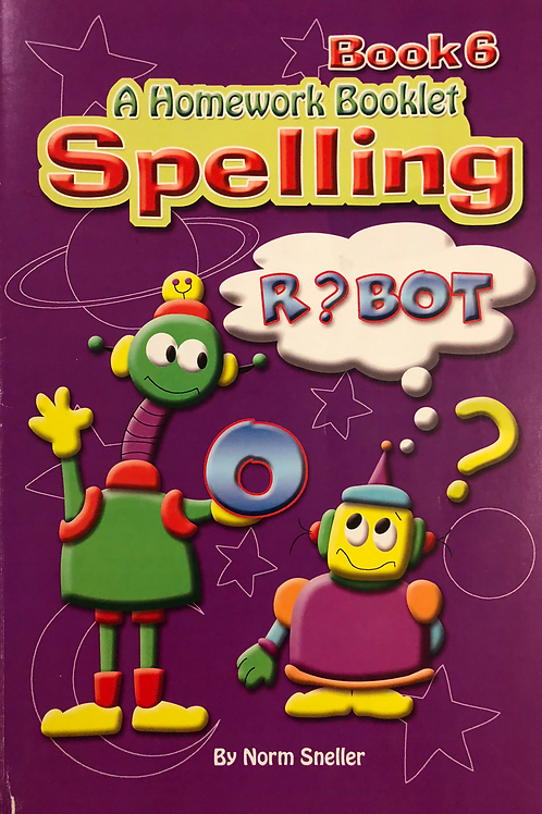 A Homework Booklet Spelling Book 5
