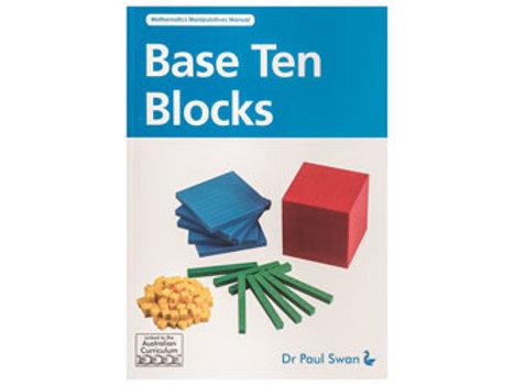Base Ten Blocks Book