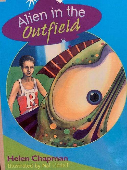 Alien in the Outfield Level 24 (MacMillan Reading Bug)
