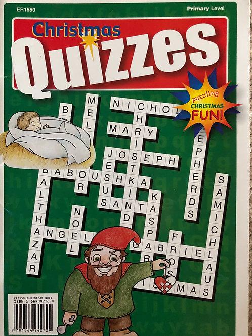 Christmas Quzzies Primary Level