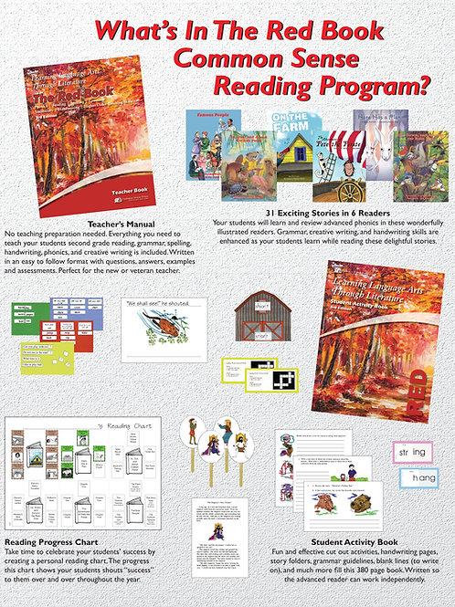eBook LLATL 3rd Ed: Red Book Program 2nd Grade