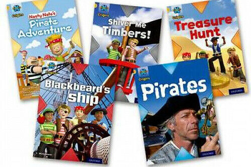 Pirates Level 9 Pack of 5 (Project x Oxford) plus Guided Reading Te