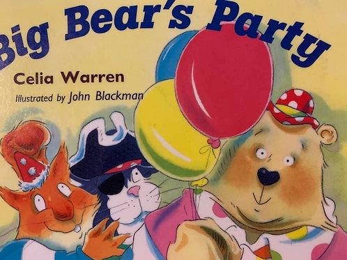 Big Bear's Party Level 8 (Reading Bug)