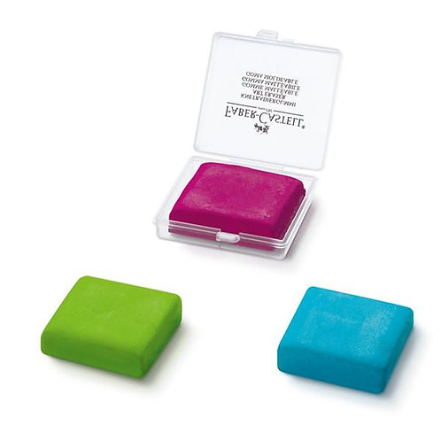 Faber-Castell Kneadable Erasers (Pink, Green or Blue)