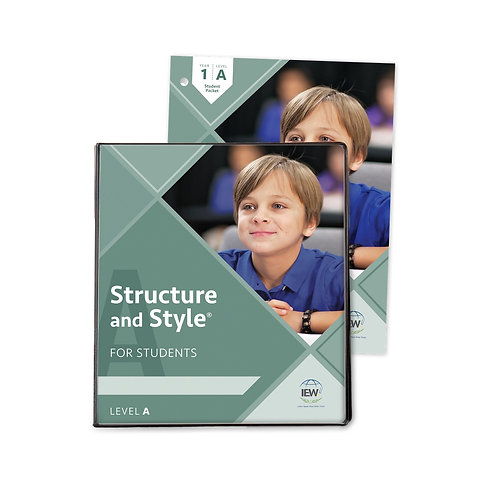 Structure and Style for Students: Year 1 Level A [Binder & Student Packet]
