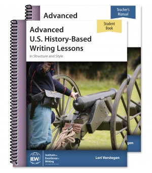 Advanced U.S. History-Based Writing Lessons (Teacher/Student Combo)