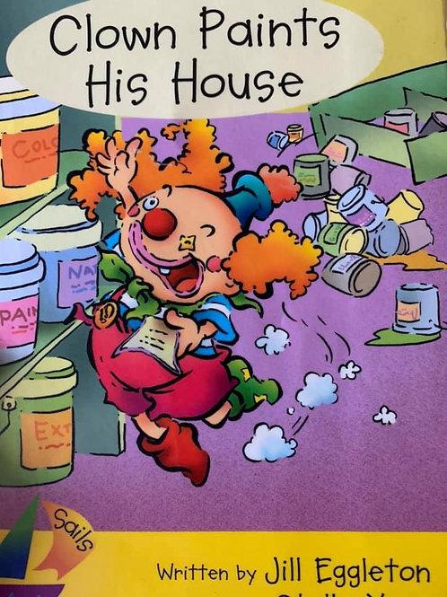 Clown Paints His House Level 6/7/8 (Sails)