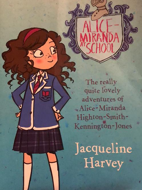 Alice-Miranda at School by Jacqueline Harvey
