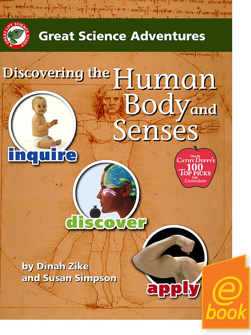 Discovering the Human Body and Senses E-book