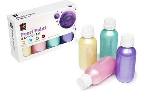 Pearl Paint 4 x 100ml Colour Set