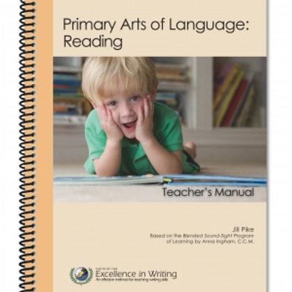 Primary Arts of Language: Reading Teacher's Manual