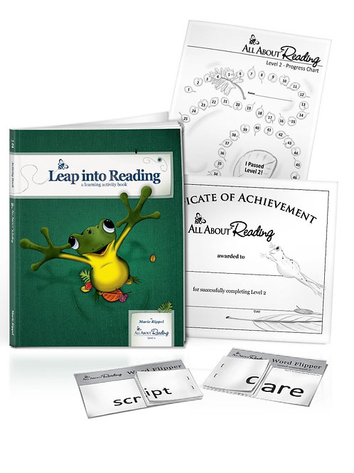 AAR: Level 2 Leap into Learning Activity Book Colour Version