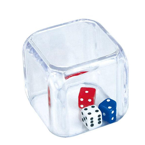Dice 3 in a Cube 25mm 2 Pk