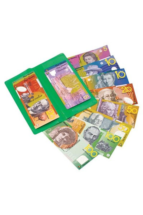 Money Wallet with Australian Notes 100 piece
