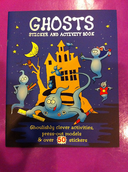 BRAND NEW: Ghost Sticker and Activity Book