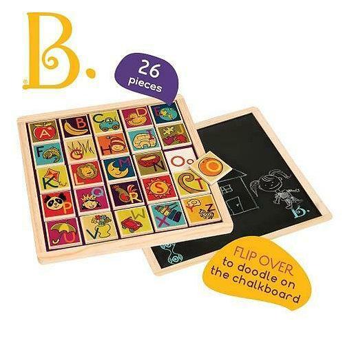 Battat Wooden Magnetic Alphabet