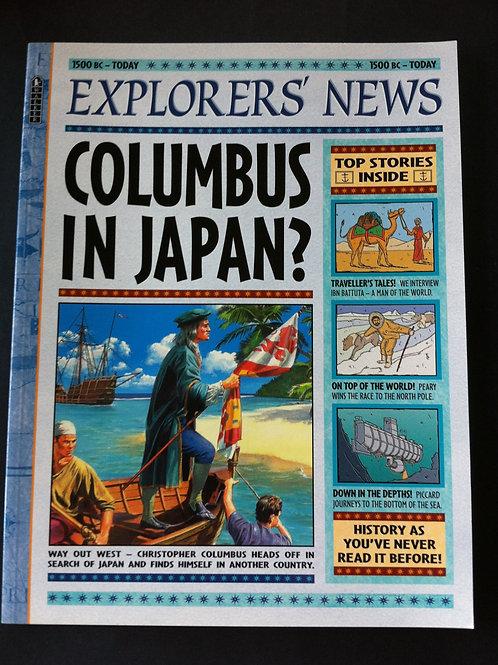 Explorers' News: Columbus In Japan?