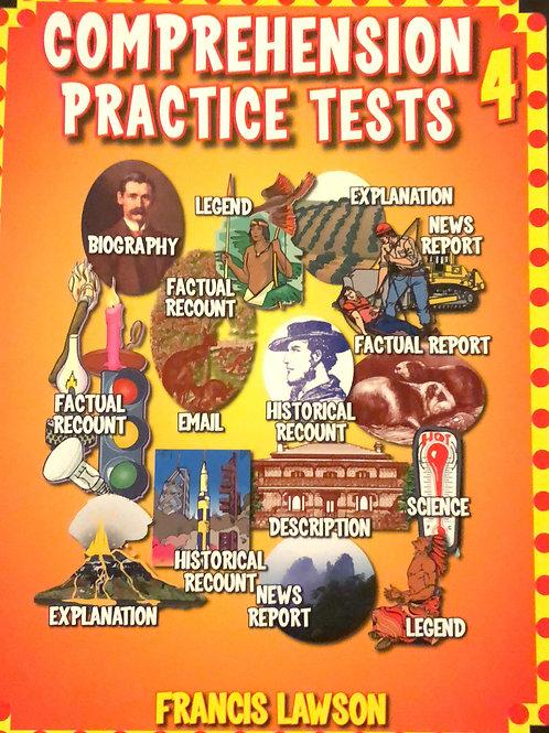 Comprehension Practice Tests Book 4