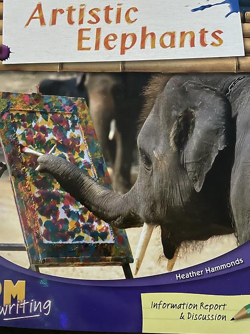 Artistic Elephants Level 25 (PM)