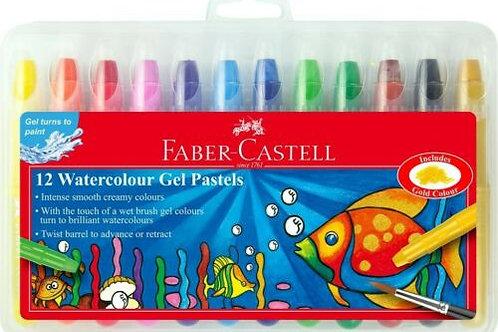 Faber-Castell Super Soft Gel Pastels 12pk