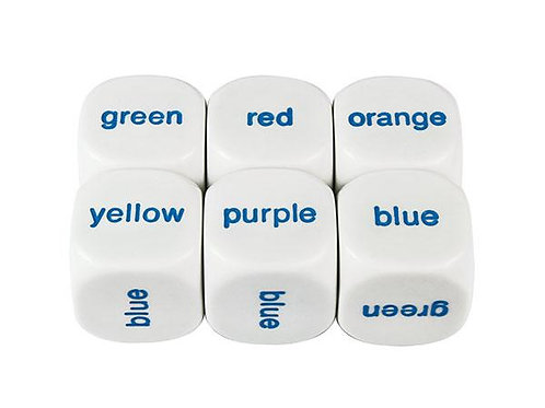 Colour Word Dice $2.40