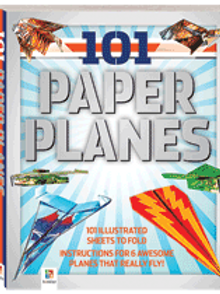 101 Paper Planes (goes great with Launcher) $15.95