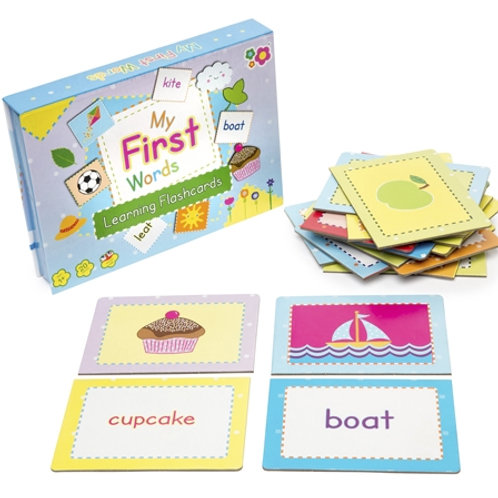 My First Words Flashcards Boxed Set $22.95