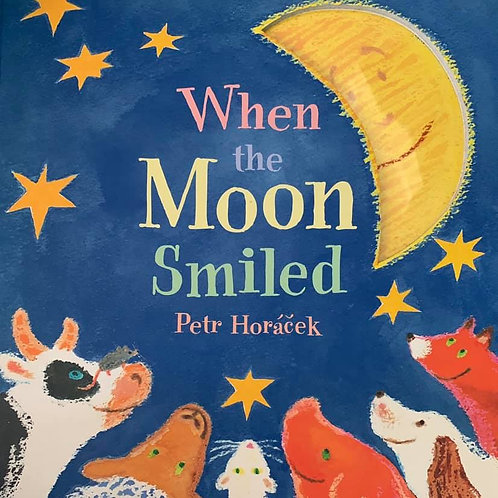 A Bedtime Counting Book When The Moon Smiled by Petr Horacek