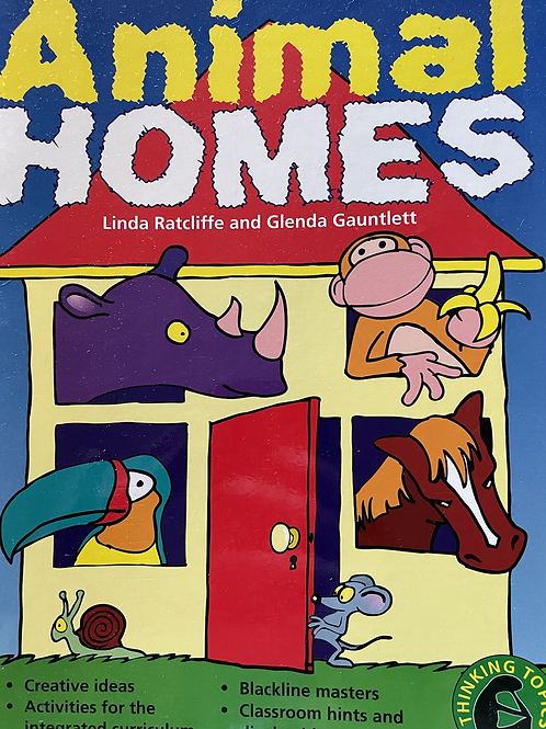 Animal Homes Lower Primary BLMs