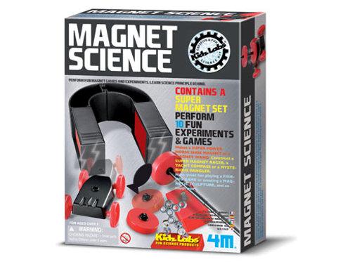 4M Kidz Labs: Magnet Science Kit $29.95