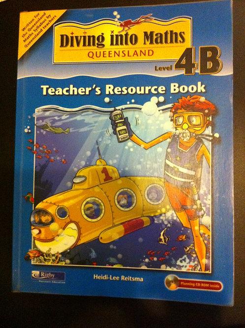 Diving Into Maths Teacher's Resource  4B Year 7