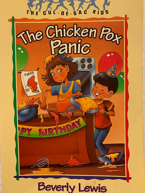 The Cul-De-Sac The Chicken Pox Panic by Beverly Lewis