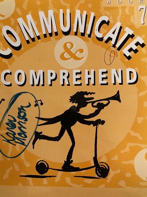 Communicate & Comprehend Student Book 7