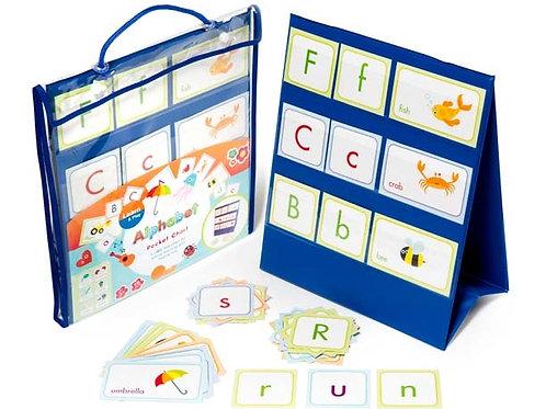 Alphabet Pocket Chart (Chart, 78 Cards, 1 pen)