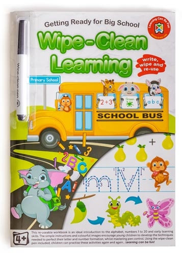 Wipe Clean Getting Ready for Big School Workbook