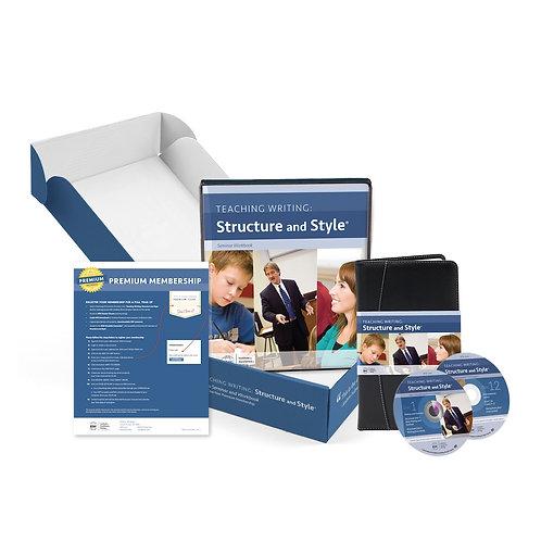 Teaching Writing: Structure & Style® DVDs, Seminar Workbook, Premium Membership