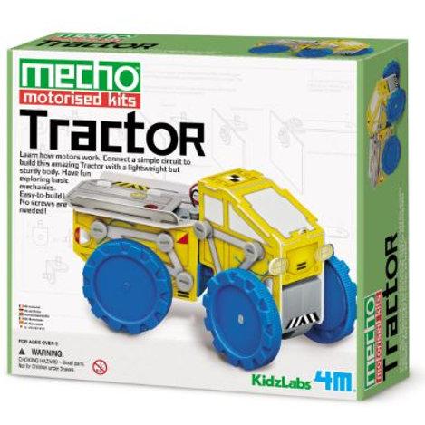 4M Kids Lab: Mecho Tractor Motorised Kits  $39.95