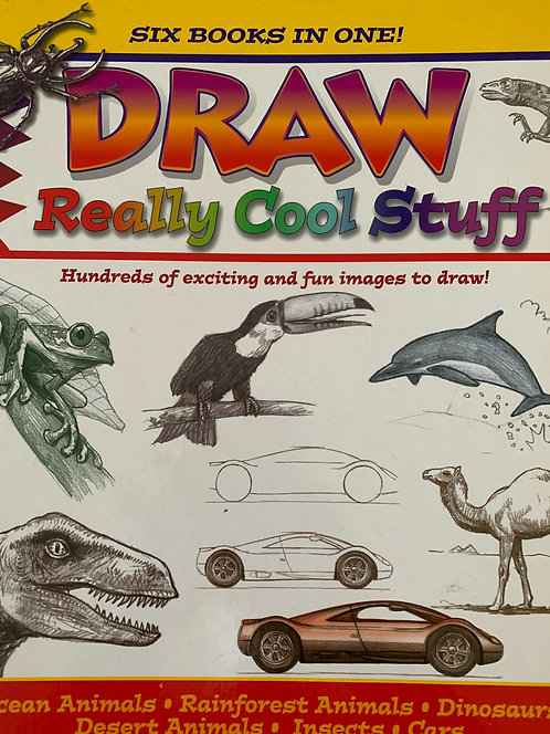 Draw Really Cool Stuff (six books in one)