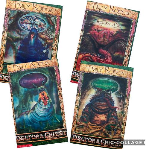 Deltora Quest Series 1 Books 5-8 by Emily Rodda