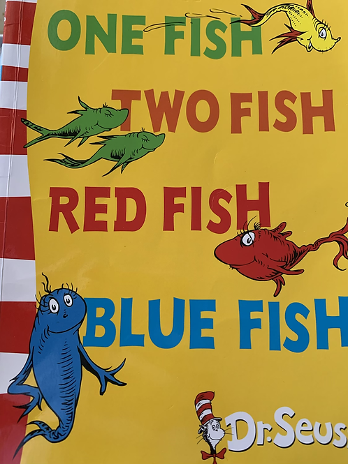 Dr Seuss One Fish Two Fish Red Fish Blue Fish (Blue Pre-Readers Rhymes & Repetit