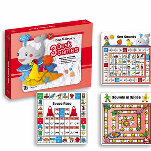 Double Sounds Desk Games Box of 3  $21.95