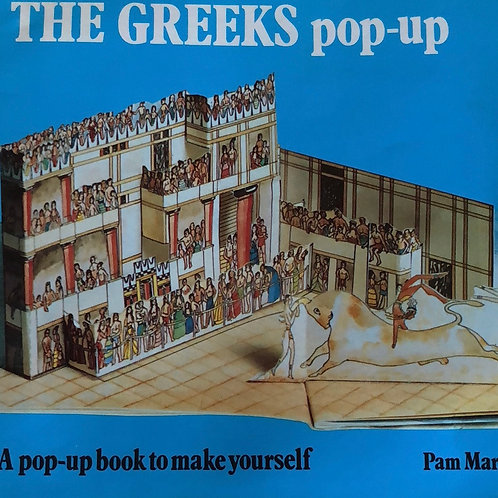 The Greeks Pop Up Book Make it Yourself