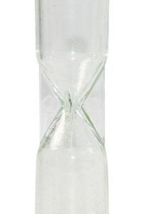 Sand Timer 10 Second - Light Green - 1 piece $2.80