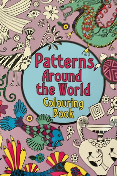 Hinkler Patterns Around The World Colouring Book