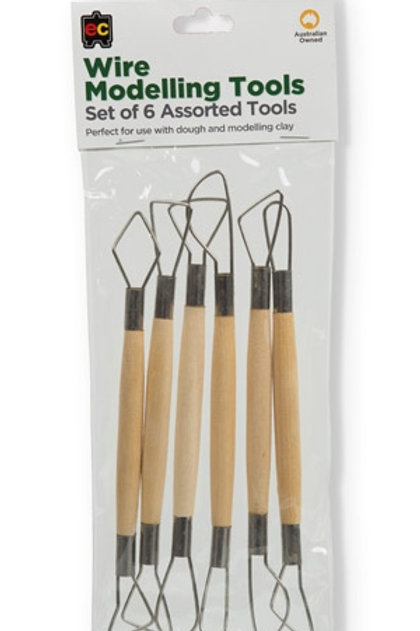 Wire Modelling Tools Set of 6